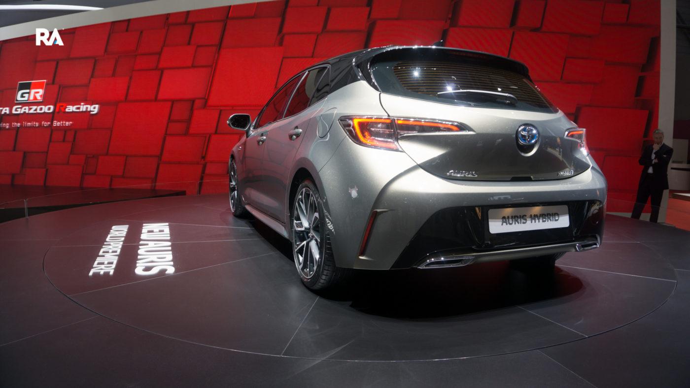 Toyota Auris Genebra 2018