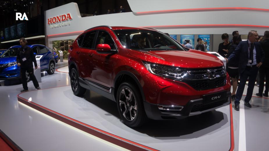 Honda CR-V Genebra 2018