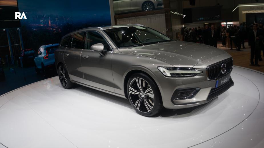 Volvo V60 Genebra 2018