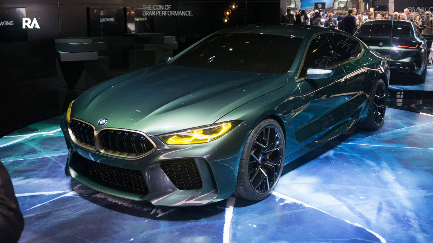 BMW Concept M8 Gran Coupe Genebra 2018