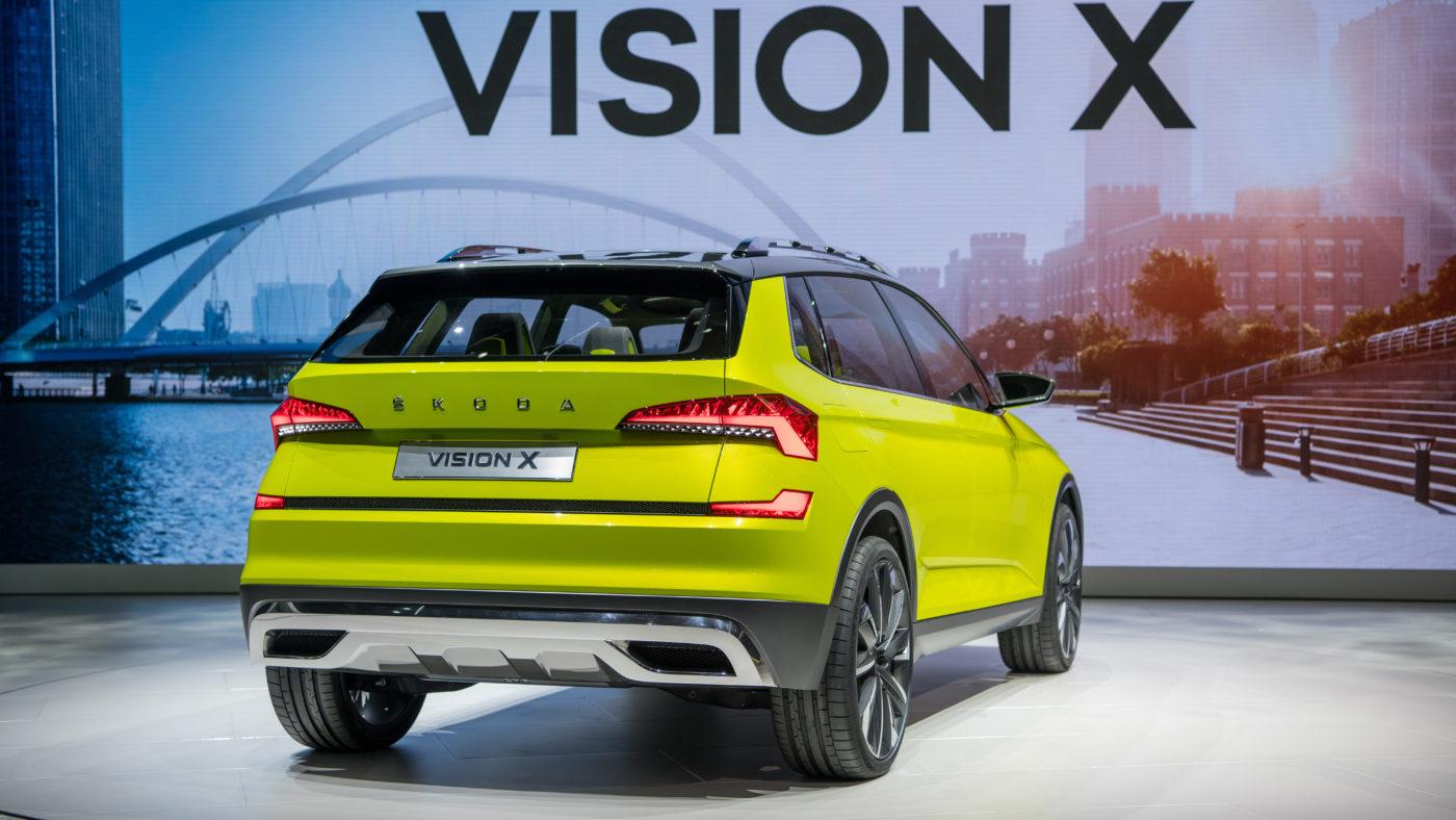 Skoda Vision X Genebra 2018