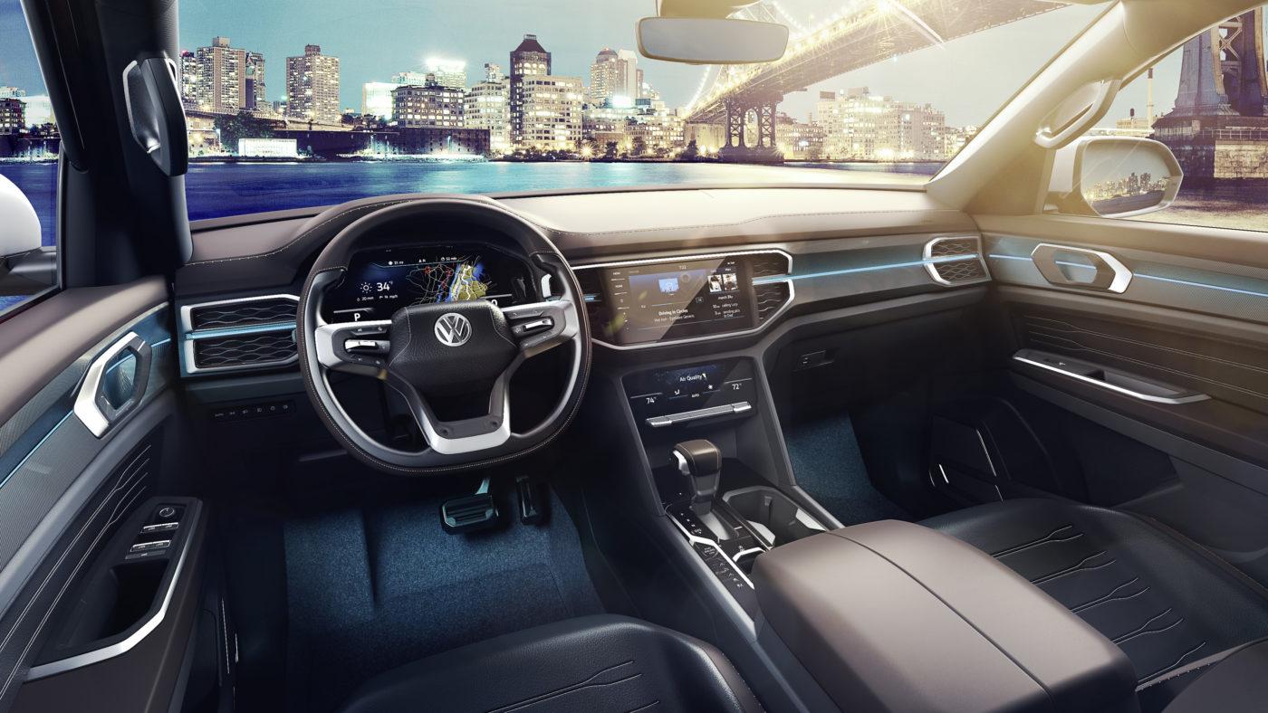 Volkswagen Atlas Tanoak Concept 2018