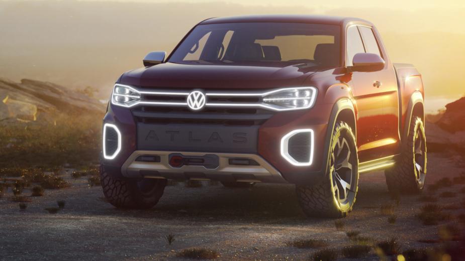 Volkswagen Atlas Tanoak Concept Nova Iorque 2018