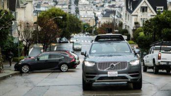 Volvo XC90 Uber condução autónoma