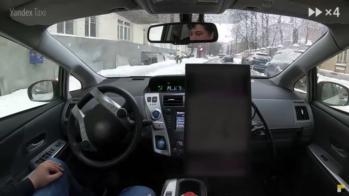 Yandex Taxi Autonomo Russia 2018
