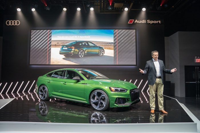 Audi RS5 Sportback EUA 2018