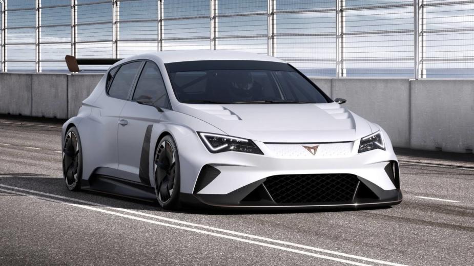 CUPRA e-Racer Concept 2018