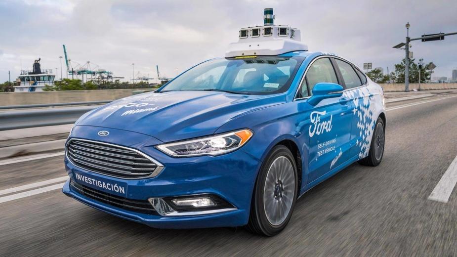 Condução autónoma — Ford