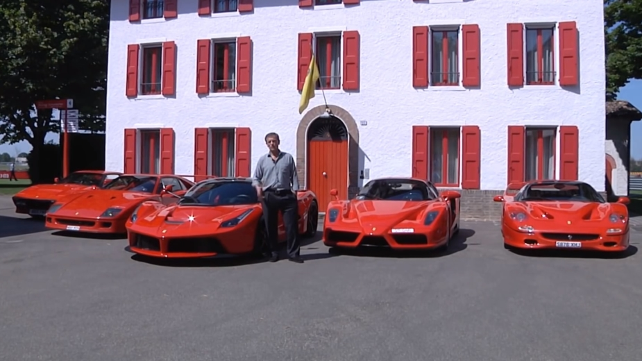 Jon Hunt, coleção Ferrari