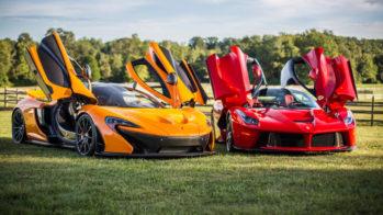 Ferrari LaFerrari e McLaren P1