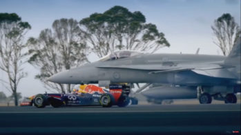 Drag race — Red Bull F1 vs FA18 Hornet