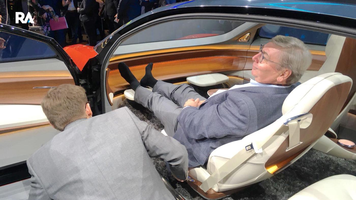 Volkswagen I.D. Vizzion Genebra 2018