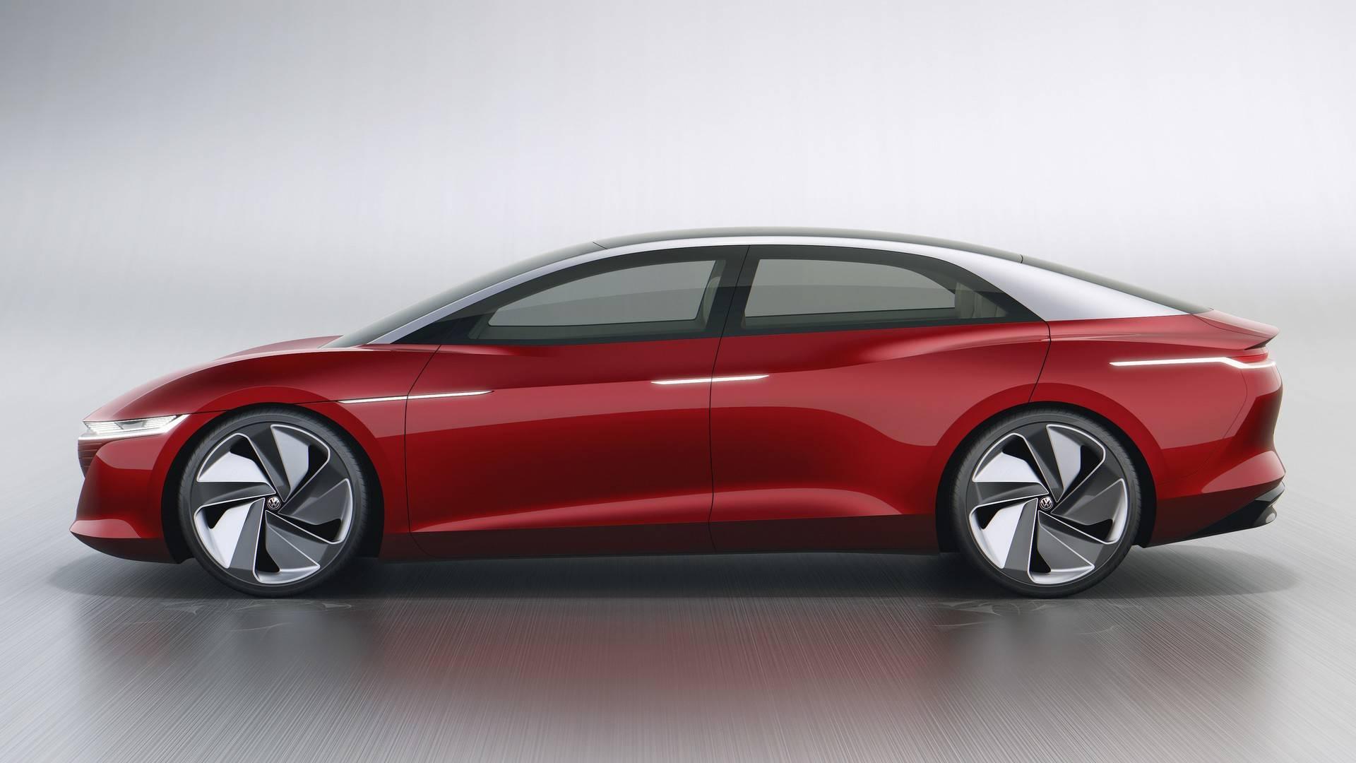 Volkswagen ID Vizzion Concept Genebra 2018