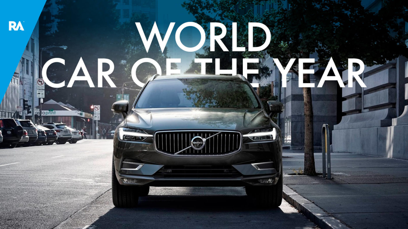 Volvo XC60 Carro Mundial do Ano 2018