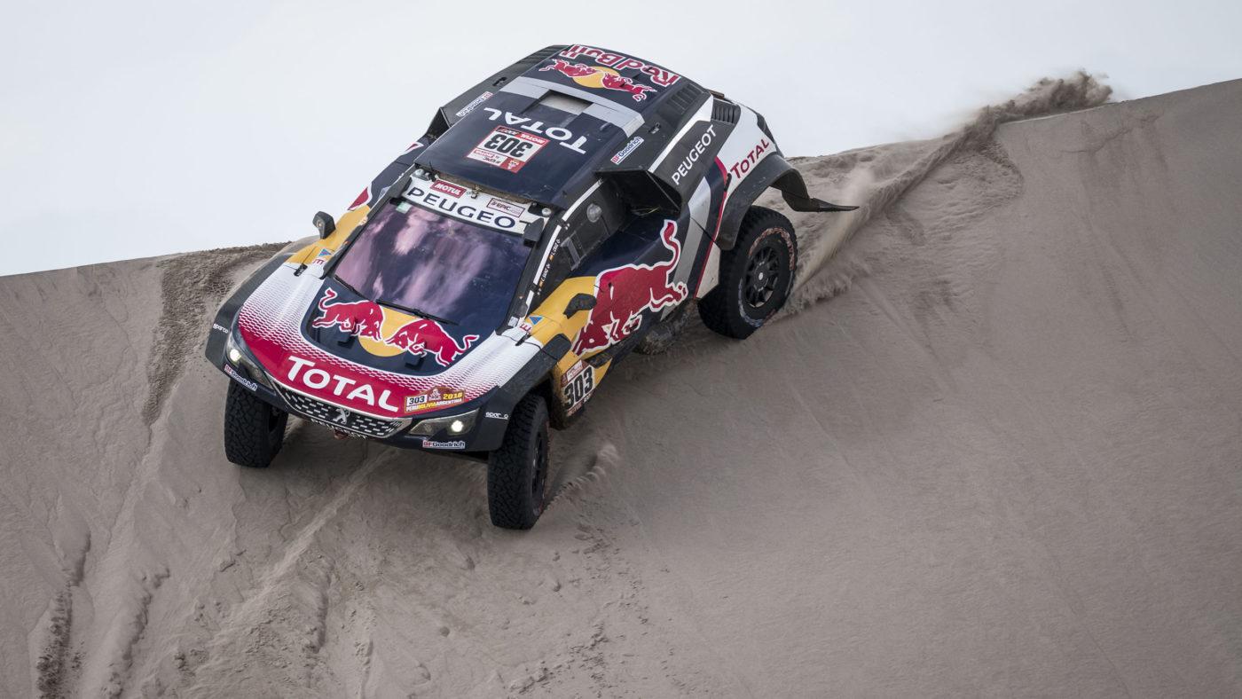 Peugeot 3008DKR Maxi Dakar 2018