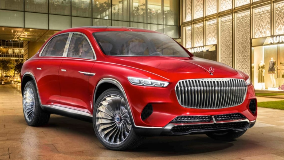 Vision Mercedes-Maybach Ultimate Luxury Concept 2018