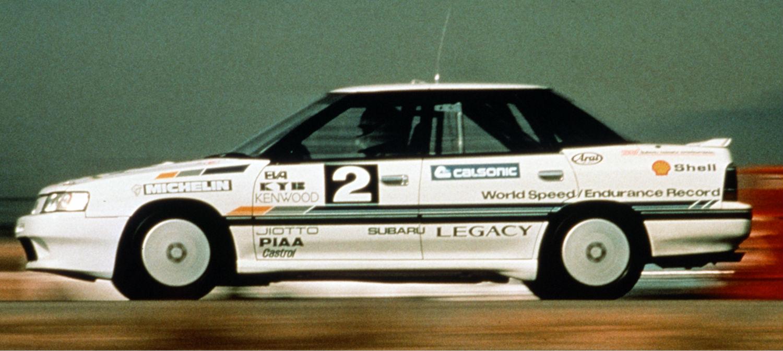 Subaru Legacy RS STI 1989 WR
