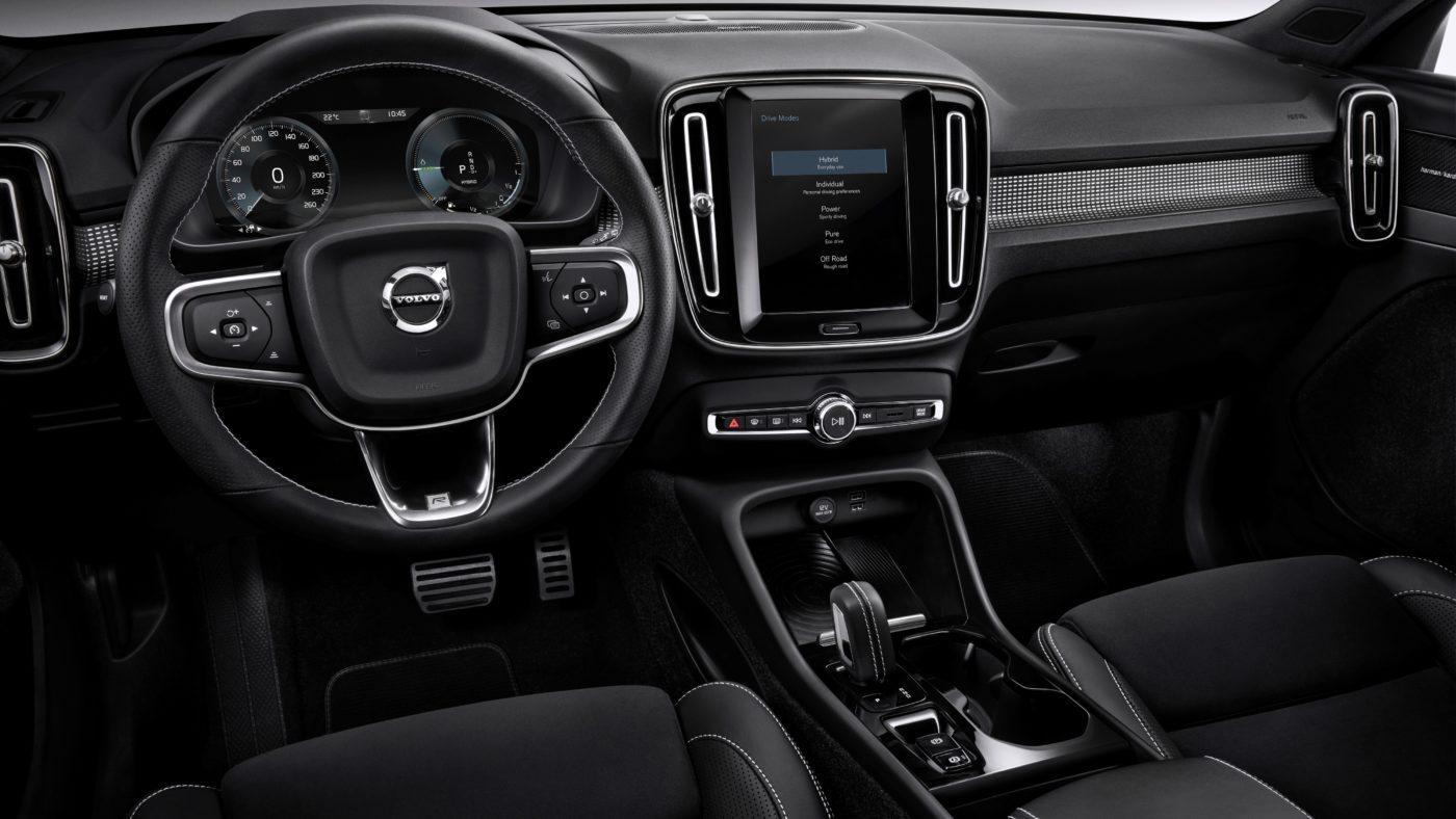 Volvo XC40 T5 plug-in hybrid 2018