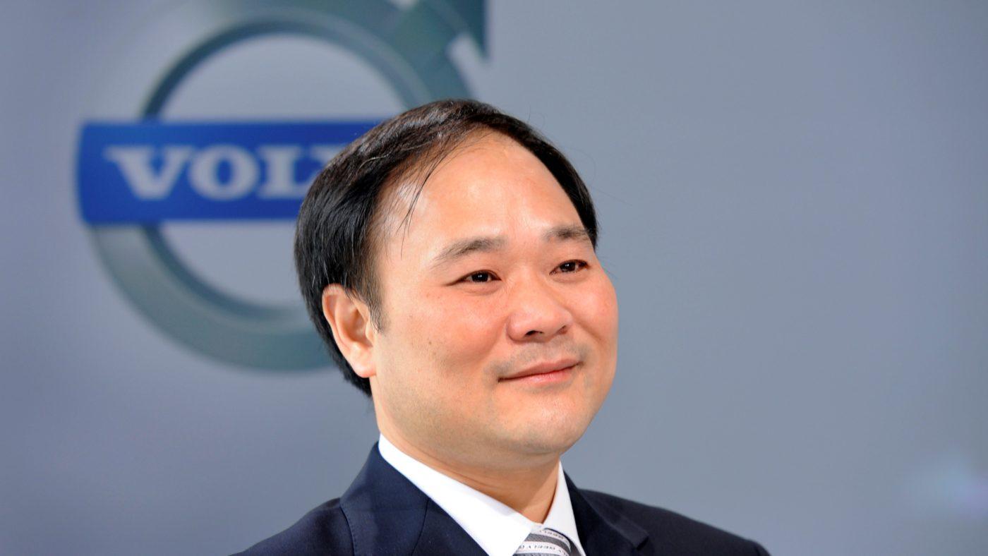 Li Shufu Chairman Volvo 2018