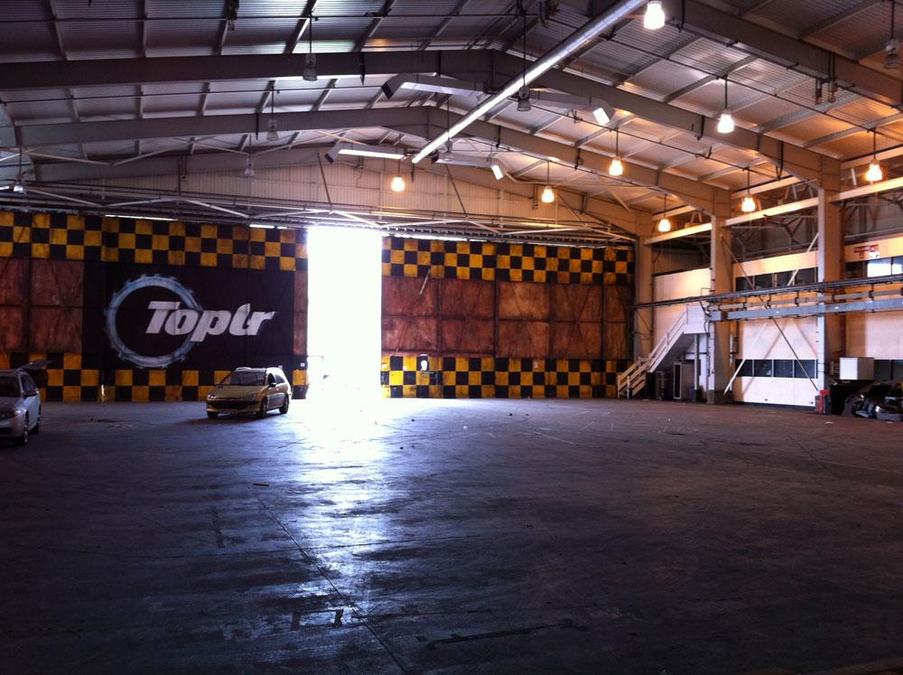 Hangar Top Gear Aerodromo Dunsfold