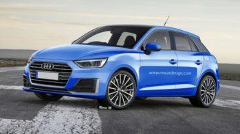 Audi A1 render