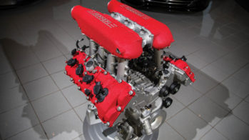 Motor V8 Ferrari 458 Italia