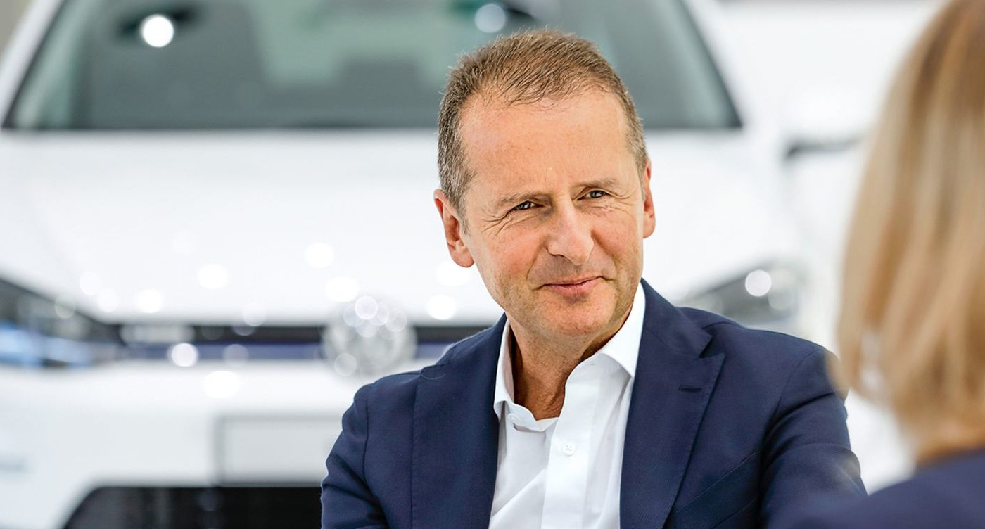 Herbert Diess CEO Volkswagen Group 2018