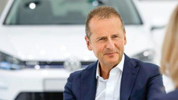 Herbert Diess CEO Volkswagen 2018