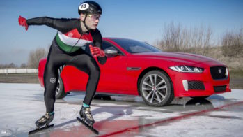 Jaguar XE 300 Sport 2018 patinador