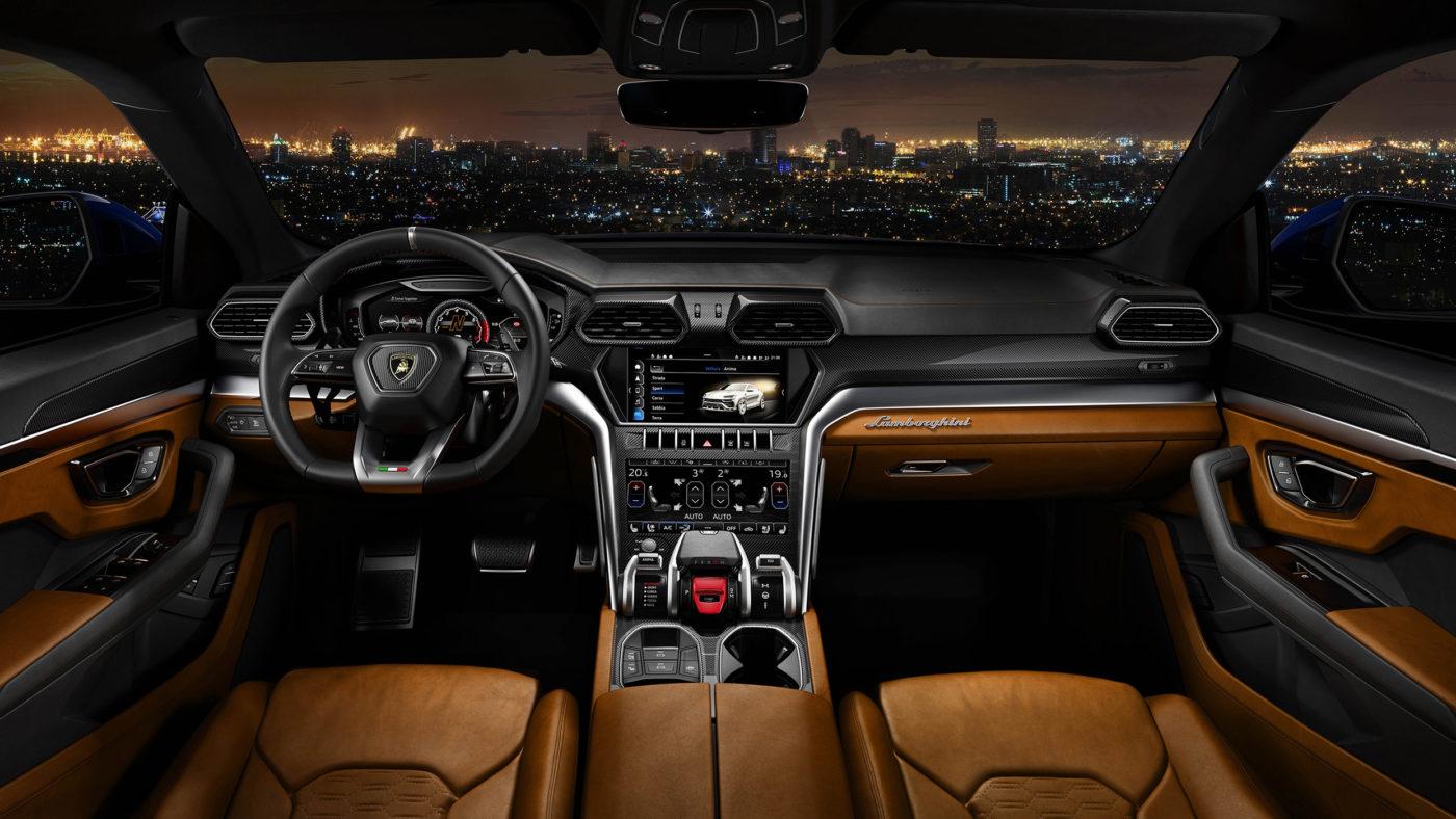 Lamborghini Urus, interior