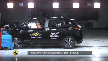 Nissan Leaf. Euro NCAP crash-test