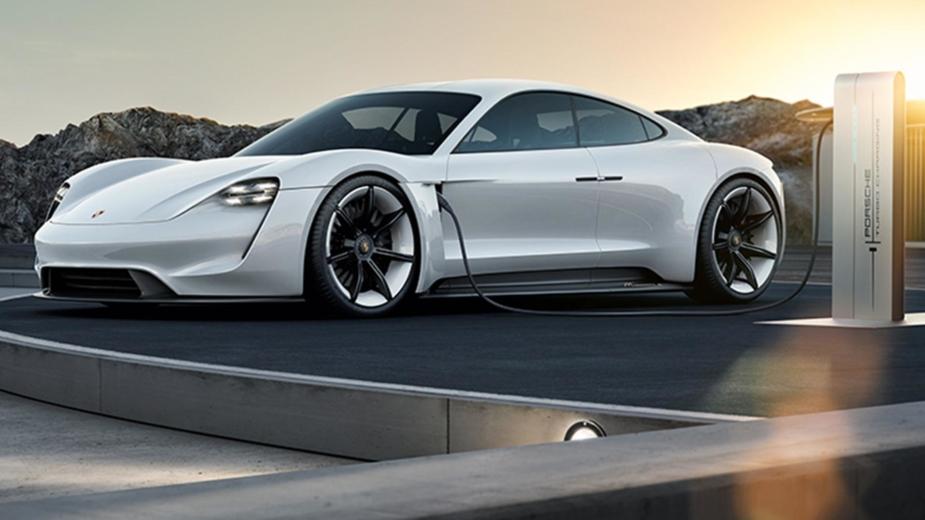 Porsche Mission E carregamento