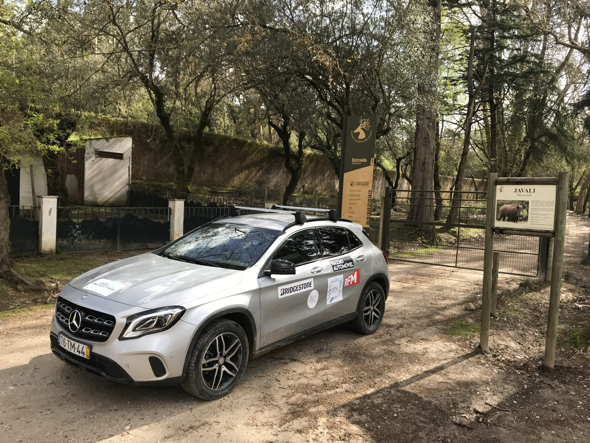 Shes Mercedes Off-road experience