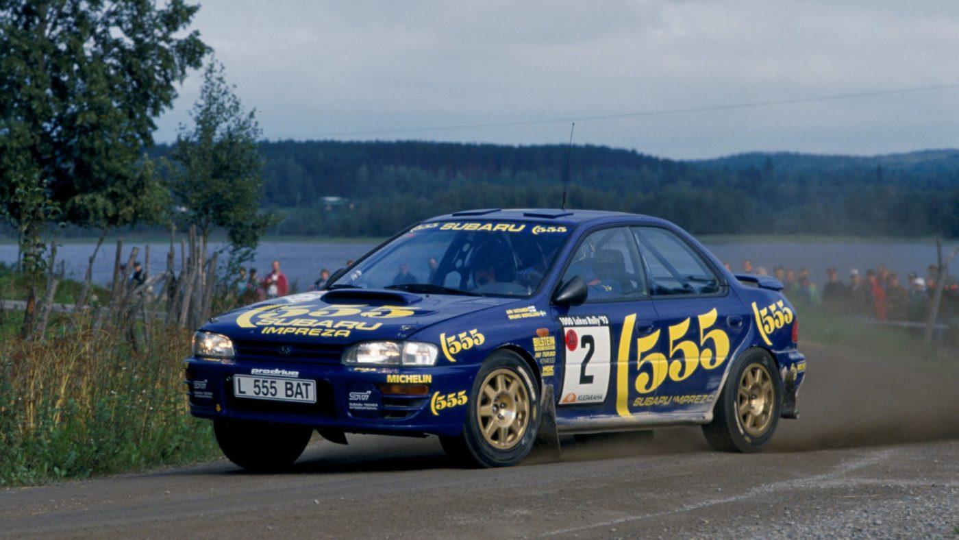 Subaru Impreza STI WRC 1993