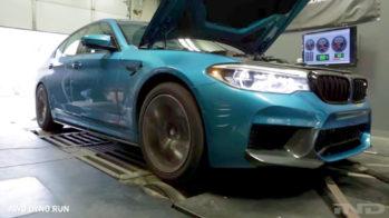 BMW M5, banco potência