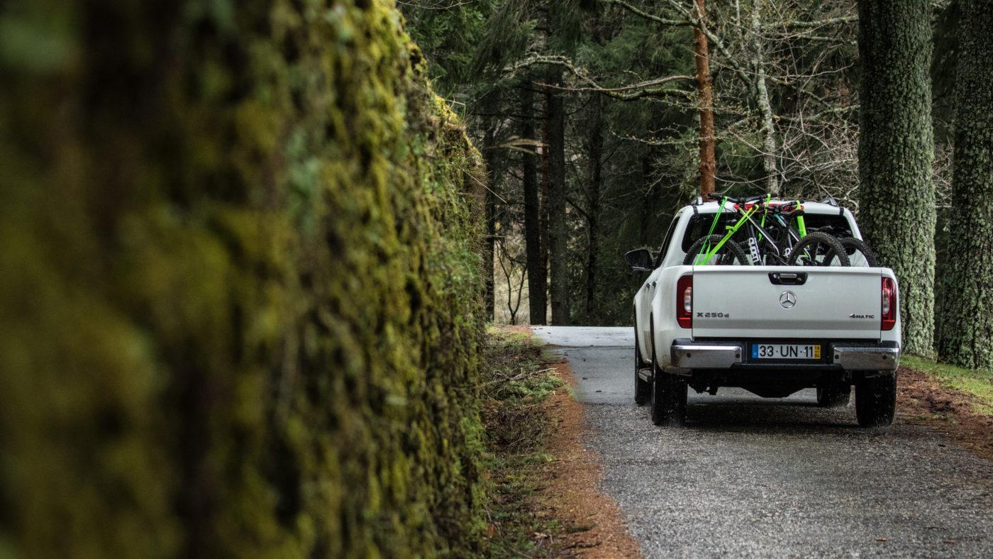 Marco Fidalgo e Mercedes-Benz Classe X
