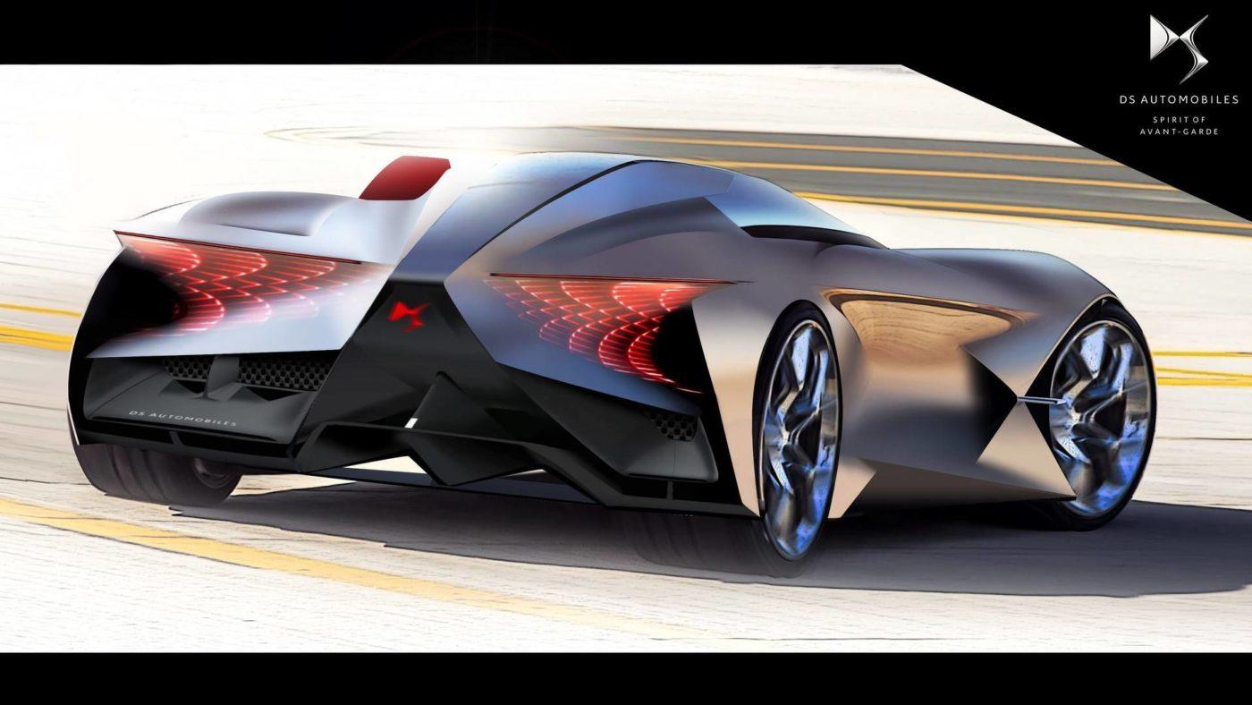 DS X E-Tense Concept 2018