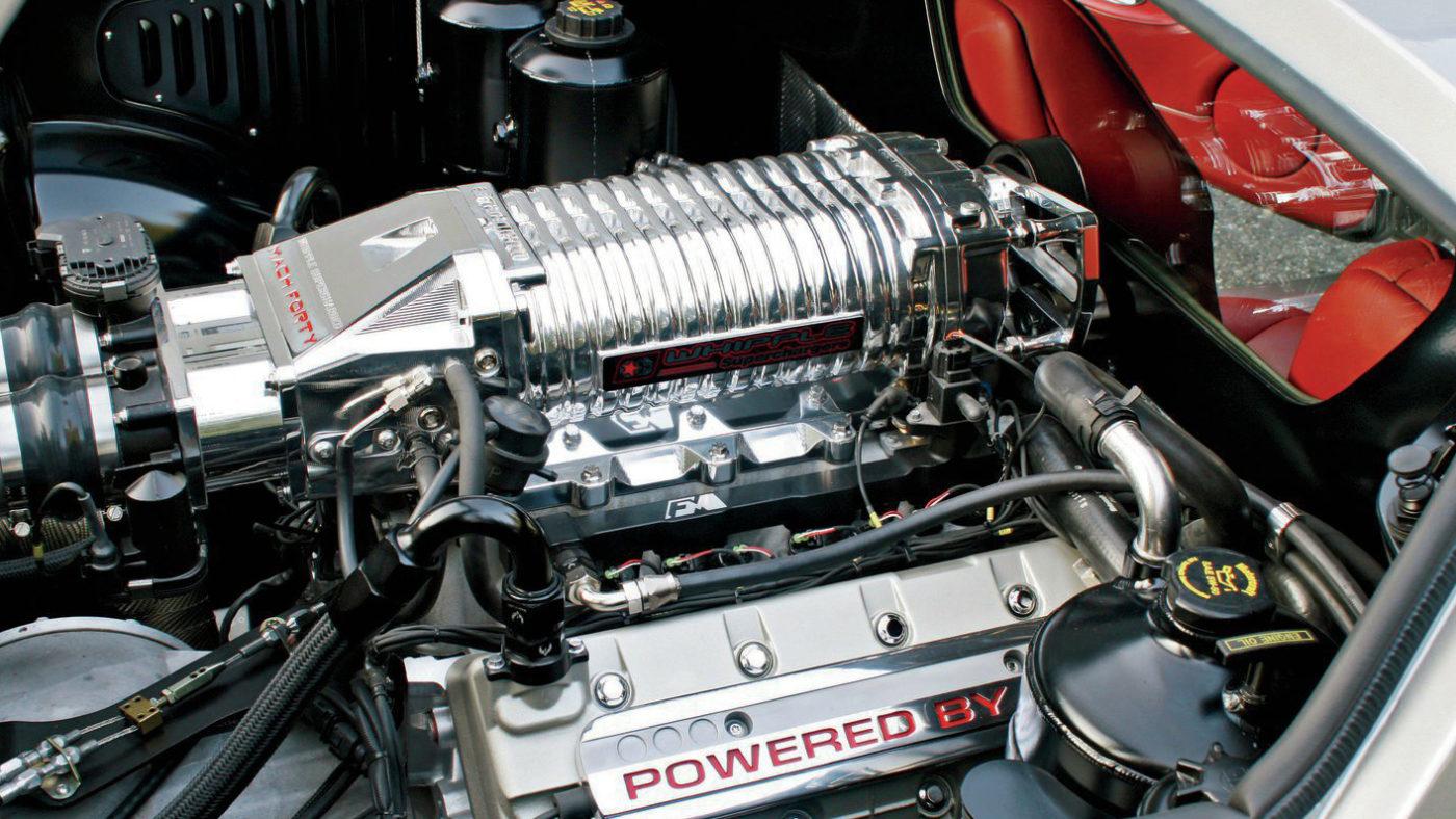 Ford Mach 40, motor