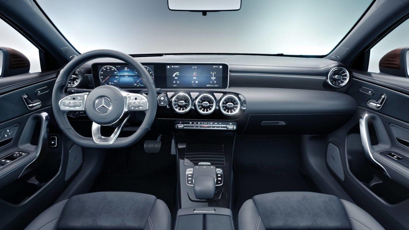 Mercedes Classe A Sedan China 2018