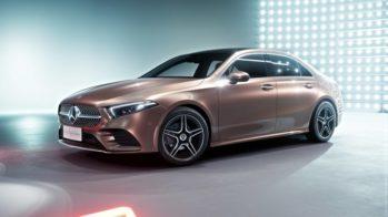 Mercedes-Benz Classe A Sedan China 2018