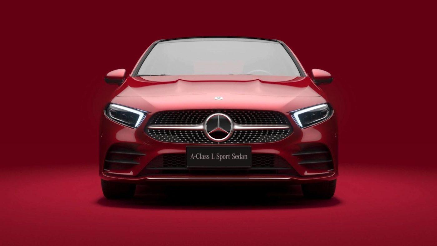 Mercedes antecipa o Classe A sedã na China