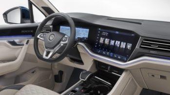 Volkswagen Touareg interior