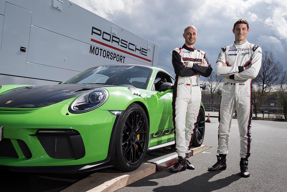Porsche 911 GT3 RS, Kévin Estre e Lars Kern