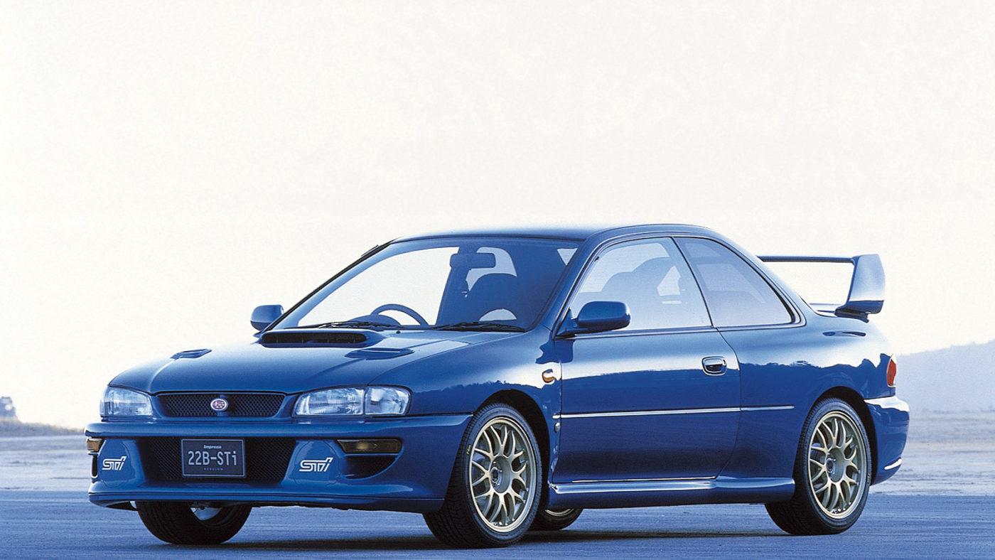 Subaru Impreza WRX 22b STI 1998