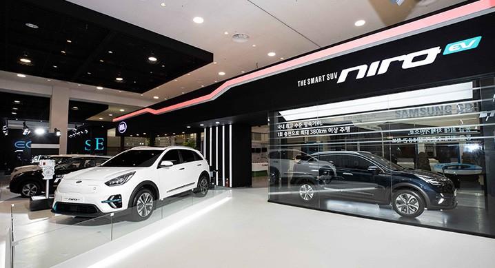 kia niro ev apresentado na coreia do sul com 380 km de autonomia. Black Bedroom Furniture Sets. Home Design Ideas