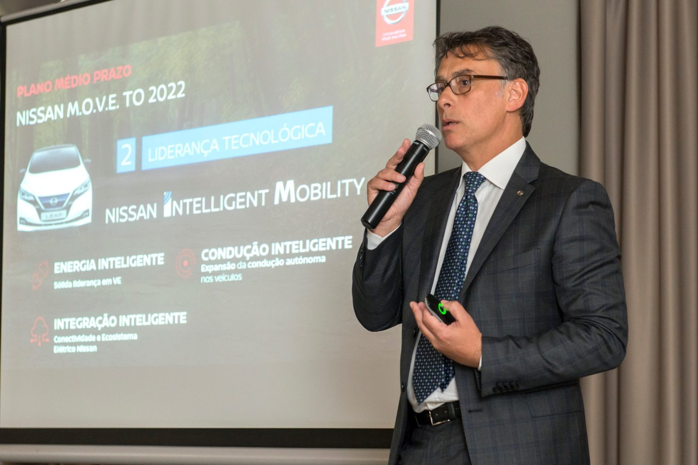 António Melica Director Geral Nissan Portugal 2018