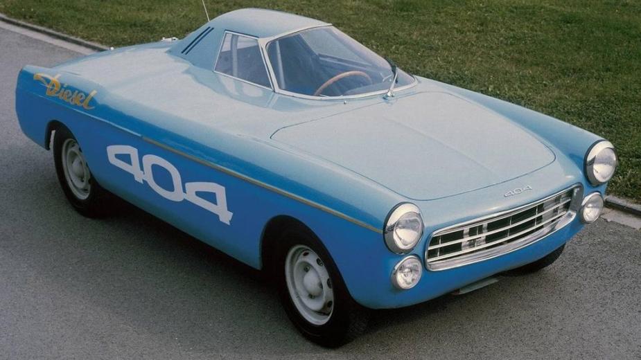 Peugeot 404 Diesel, carro recordista