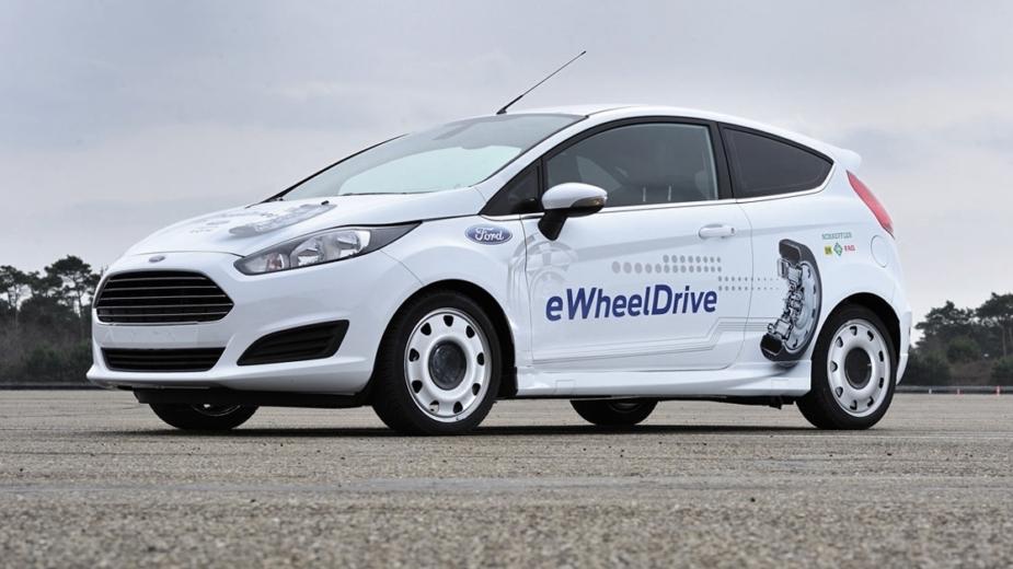 Schaeffler Ford Fiesta eWheel Drive