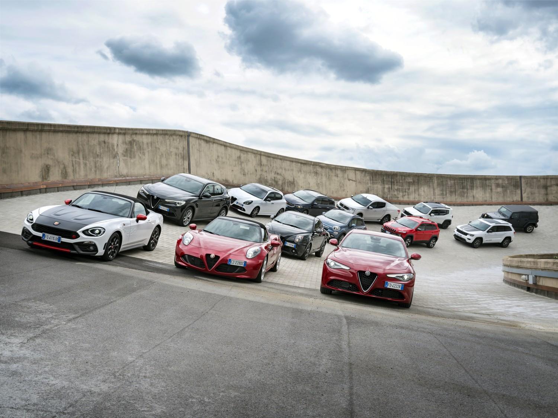 FCA. Modelos Alfa Romeo, Fiat, Jeep em Lingotto