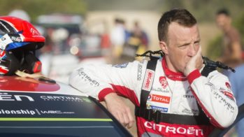 Kris Meeke Citroen WRC 2018